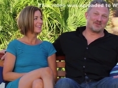 Matt and Alexis hook up in the backyard with other horny couples