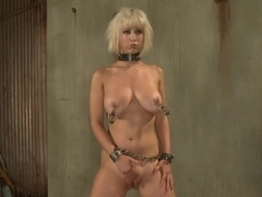 Crazy bdsm, fetish xxx scene with hottest pornstar Cherry Torn from Dungeonsex