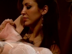 Crazy lesbian, anal porn clip with fabulous pornstars Princess Donna Dolore, Maitresse Madeline Marlowe and Vivienne Del Rio from Whippedass