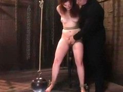 Handsome Kimberlee Cline is fucking in BDSM porn