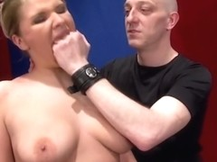Fisting the sexy German cuckold Milf