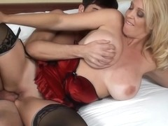 Charlee Chase is having casual sex with her step- son, every once in a while