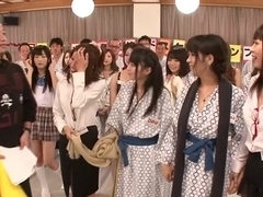 Saki Hatsuki, Maika, Arisu Suzuki, Yu Anzu in Fan Thanksgiving BakoBako Bus Tour 2012 part 1.2