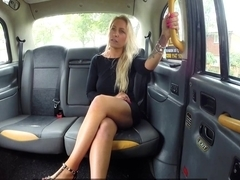 Nova Shields In Blondes tight holes fucked in cab