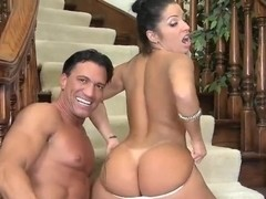 Marco Banderas & Monica Santhiago caress orally