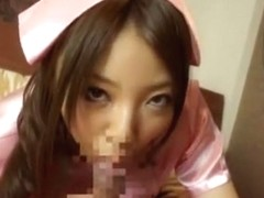 Exotic Japanese whore Ayane Okura in Incredible POV, Blowjob JAV clip
