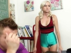Chloe Foster & Bill Bailey in Naughty Book Worms