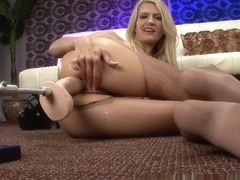 PantyhosePops Video: Amanda Tate Wants a Bigger Dildo!