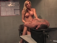 TsSeduction.com FEATURED CLASSIC: Carmen Cruz - secondary inspection