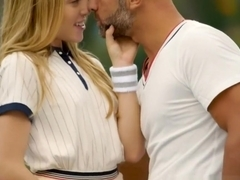 First Anal For Tennis Student Aubrey Star