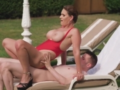 French Milf Fucking The Pool Boy