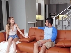 Gorgeous Stepdaughter Jillian Janson Fucks For Stepdads Cum