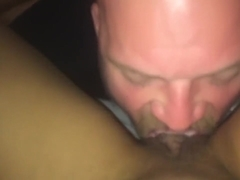 Eating whipped cream off pussy POV #desertdippeddick #2