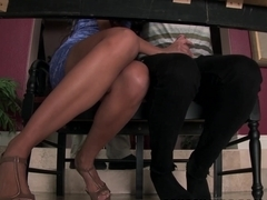 Horny Amirah Adara takes on her boyfriends huge shaft