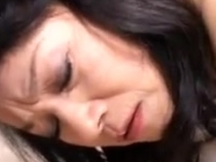 Mature Asian slut gets fucked by her bf