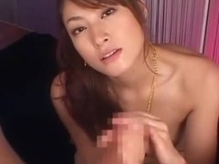 Crazy Japanese slut Karen Kisaragi in Fabulous Blowjob, POV JAV clip