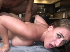Skyler Luv - Big Booty Masseuse Wrecked By Black Dick In Hd