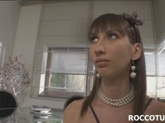 Brunette chich Taniella suck cock ass to mouth