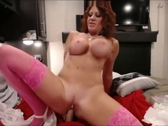 Dirty Talk Master MOM Sexy MILF from US with Huge Natural Tits Squirting