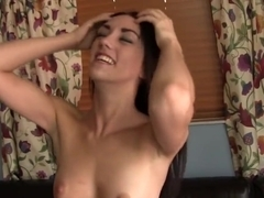 Disgraced amateur babe pounded hard