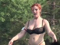 Hottest pornstar in crazy redhead, amateur sex scene