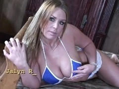 JAYLYN ROSE IS HERE TO SHOW OF HER BIG TITS C5M