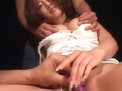 Horny Japanese model Kaera Uehara in Fabulous Masturbation, Threesome JAV clip