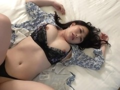 Busty wife who appeared in a porn video without telling loneliness
