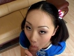 RawVidz Video: Petite Asian Evelyn Anal Drilling