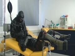 Gas mask heavy rubber medical enema