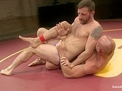 NakedKombat Chad Bulldog Brock vs Morgan The Attack Black Morgans Chance at Redemption