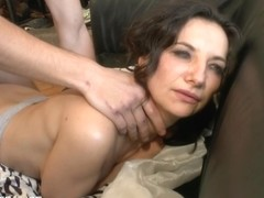 Caroline Brunette Milf Craves Young Dick In Her Ass