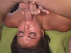 Really Nice Girl Gets Throated
