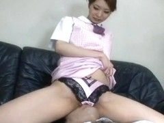 Japanese Facesitting In Pink Satin Panties