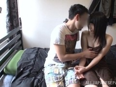 Chigusa Hara arousing Asian amateur has nice big tits