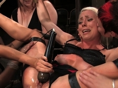 Fabulous blonde, fetish sex movie with amazing pornstars Lorelei Lee and Princess Donna Dolore from Wiredpussy