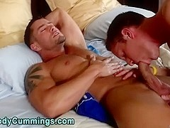 Twink sucks and tugs cody cummings