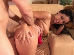 HumiliatedMilfs - Latina cutie Luscious Lopez gets her ass worked hardcore style.