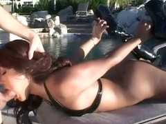 Sexy Asian Lyla Lei gets shagged hard outdoors