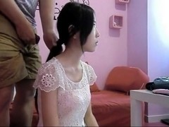 Hot Chinese Hairjob