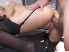 Florane Russell - Anal At The Office