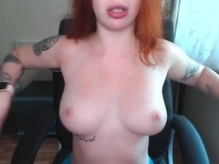 Tits slap - webcam show