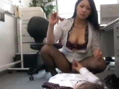 M To Be Forced To Fire Employees Dripping Precum Forced To Senzuri Force At Work In The Office Rea.