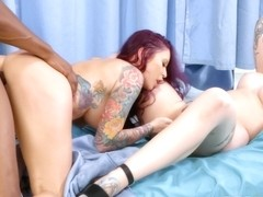 Doctor Monique Alexander And Her Patient Ivy Lebelle Have Amazing Sex With Black Nurse