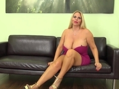 Hottest pornstar Karen Fisher in Crazy Big Tits, Blonde porn movie