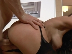 Best pornstars Casey Calvert, John Strong, Thomas Stone in Horny MILF, Stockings sex video