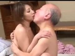 Juvenile Japanese Wife & Old Chap