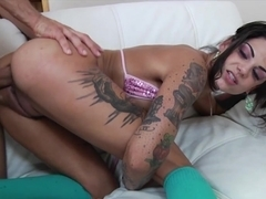Best pornstar Bonnie Rotten in Exotic Cumshots, Big Tits porn video