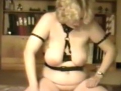 Vintage BDSM 1991 with slave Tammy