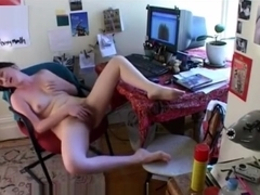 Great view of my sister masturbating. Hidden cam